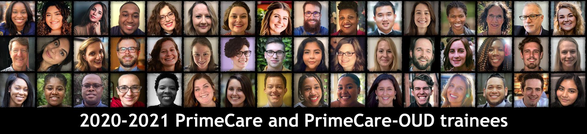2020-2021 PrimeCare and PrimeCare-OUD trainees
